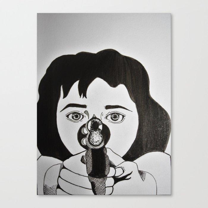 Karen Hill (Goodfellas, 1990) Canvas Print