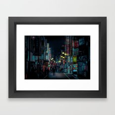 Kabukicho Nights Framed Art Print