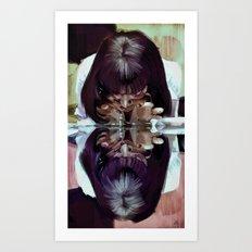 adrenaline? 'Mia Wallace'  Pulp Fiction Art Print