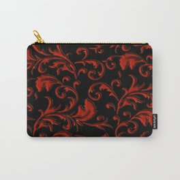 Vampyr Royalty (black and red) Carry-All Pouch
