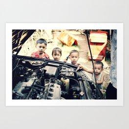 Our Gang n°2 Art Print