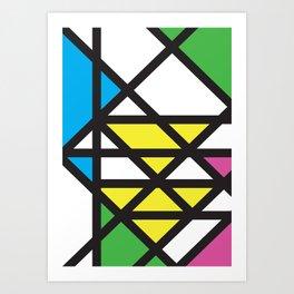 Geometric Calendar - Day 29 Art Print