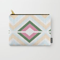 Mod stripes in Sorbet Carry-All Pouch