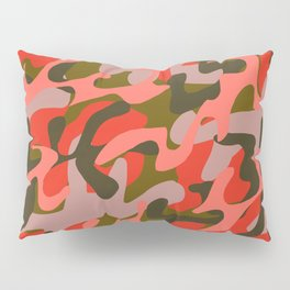 Coral Camouflage 2 Pillow Sham