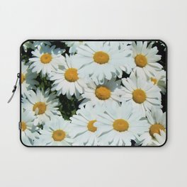 Daisies explode into flower Laptop Sleeve