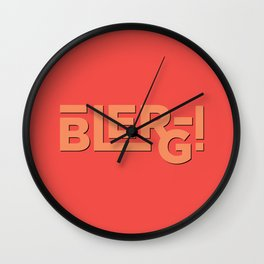 Blerg! An Ode to 30 Rock Wall Clock