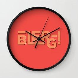 Blerg! An Ode to 30 Rock Wall Clock