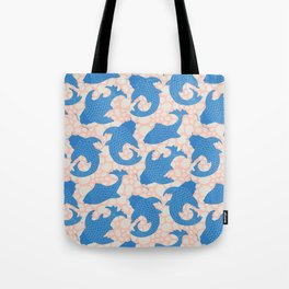 KOI Pattern Tote Bag
