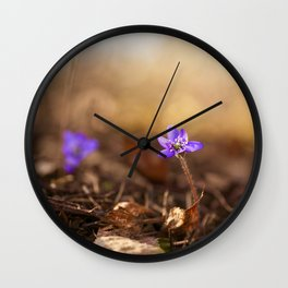 Come with me  Hepatica Forest #decor #society6 Wall Clock