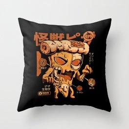 Pizzazilla X-ray Throw Pillow