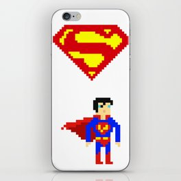 Clark kent iPhone Skin