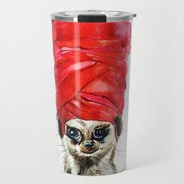 Red Turban Travel Mug