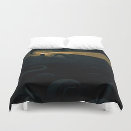 Good job leading that ship onto the rocks dude, high five! Duvet Cover