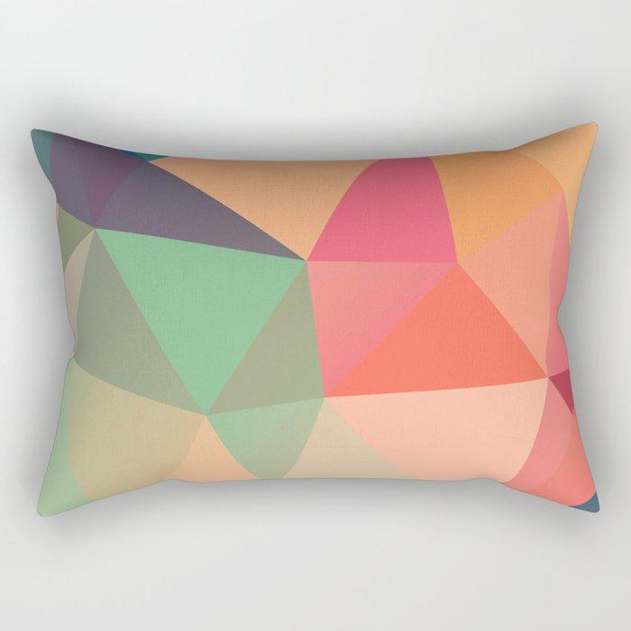 Geometric XV Rectangular Pillow