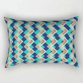 Zig-zag Rectangular Pillow