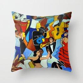 SALSA SAUVAGE Throw Pillow