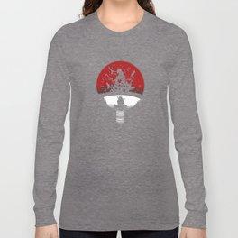 Uchiha Clan Silhouette Long Sleeve T-shirt