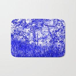 The Blue Forest Bath Mat