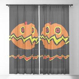 Citrouille 02 Sheer Curtain