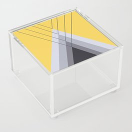Iglu Primrose Yellow Acrylic Box