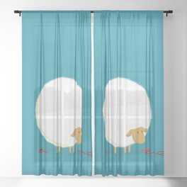 Fluffy Sheep Sheer Curtain