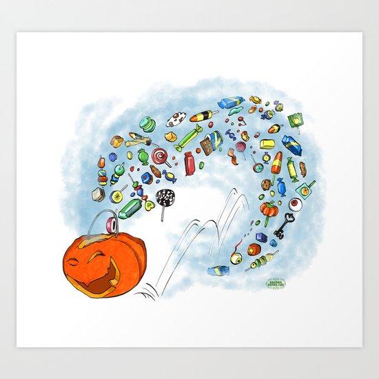 Happy Jack Art Print