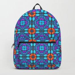 Southwestern Glass Tile Digital Art Backpack