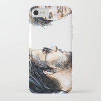 cyrilliart iPhone & iPod Cases featuring Rebels Without A Cause by Cyrilliart