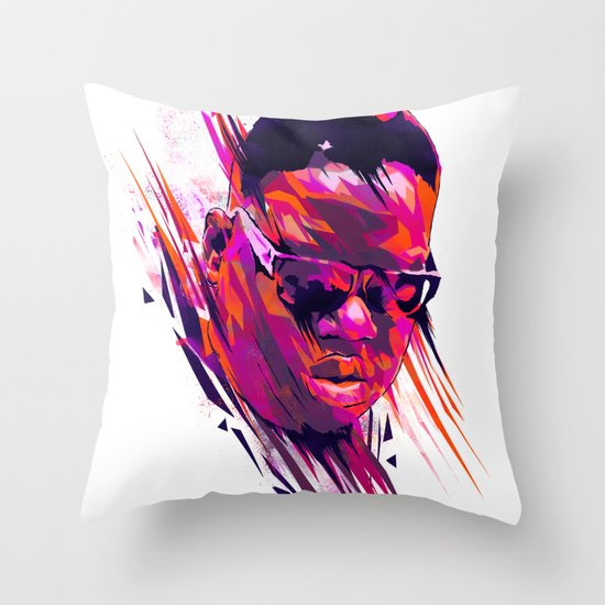 The Notorious B.I.G: Dead Rappers Serie Throw Pillow