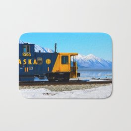 Caboose - Alaska Train Bath Mat