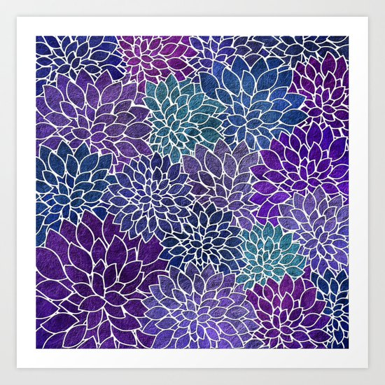Floral Abstract 22 Art Print