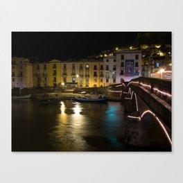 Bridge of Bosa  Canvas Print