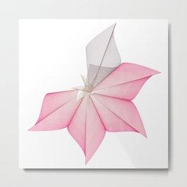 linear flower Metal Print