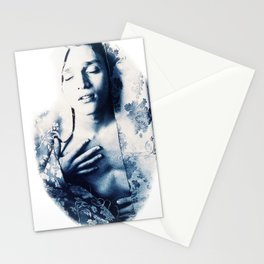 Arouse in your own pleasure Stationery Cards