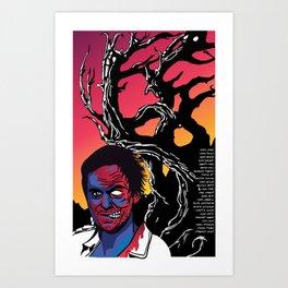Murderous Man Art Print