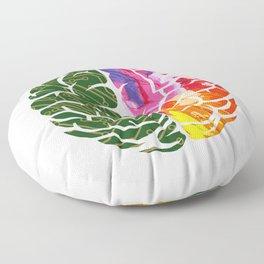 """Brain"" Halloween Shirt For October 31st T-shirt Design Spooky Creepy Halloween Scary Ghost Floor Pillow"