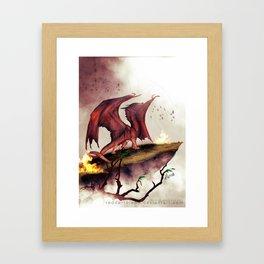 Decimation Framed Art Print