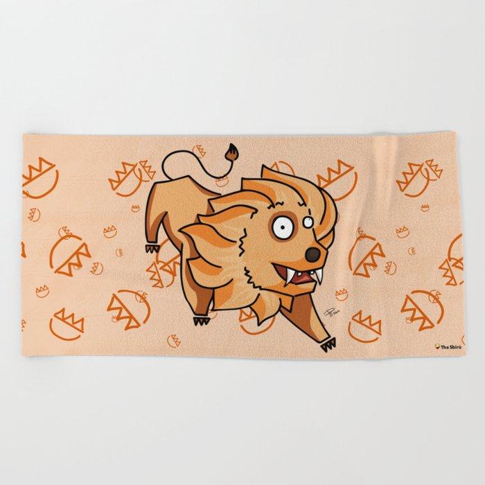Leo Beach Towel