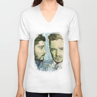 van gogh V-neck T-shirts featuring Ziam /Van Gogh inspired/ by Peek At My Dreams