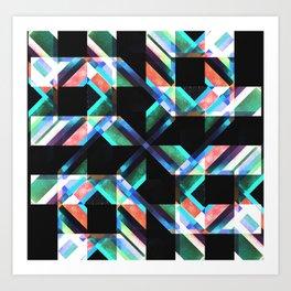 Fold-C2 Art Print