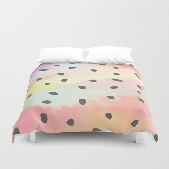With dots Duvet Cover