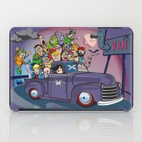 van iPad Cases featuring Van by manuvila