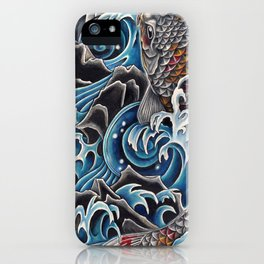Koi by Sebastian Orth iPhone Case