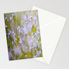 Forget-me-nots On a Windy Day #decor #society6 Stationery Cards