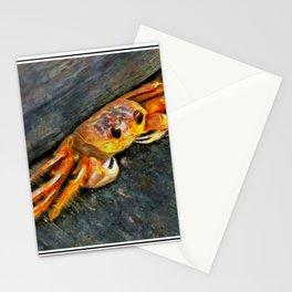 Ocean Boardwalk Crab PhotoArt Stationery Cards