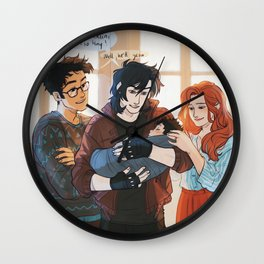 Godfather Sirius Wall Clock