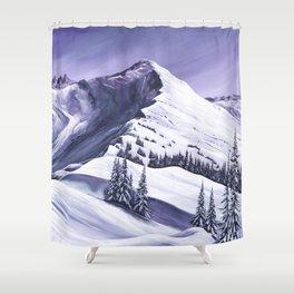 Pointe De Chesery Shower Curtain