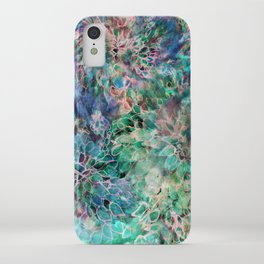 Banksia Cool Blue iPhone Case