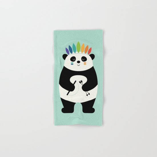 Be Brave Panda Hand & Bath Towel