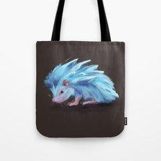 Ice Hedgehog Tote Bag